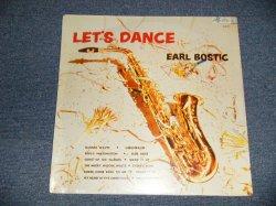 """画像1: EARL BOSTIC - LET'S DANCE (SEALED) / US AMERICA REISSUE """"BRAND NEW SEALED"""" LP"""