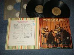 画像1: DOC WATSON - DOC WATSON ON STAGE : Featuring MERLE WATSON (Ex++/Ex++ Looks:Ex++) / 1970 US AMERICA ORIGINAL Used 2-LP