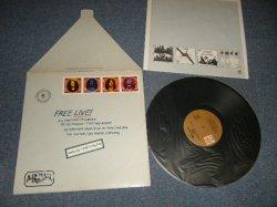 """画像1: FREE - FREE LIVE (Matrix #A) SP-45111 (RE-1)-P2 B) SP-4306 SP-4512 SIDE-2 P1 STERLING )  """"PITMAN Press in NEW JERSEY"""" (Ex++/MINT) / 1971 US AMERICA ORIGINAL 1st Press """"BROWN Label"""" """"With CUSTOM INNER SLEEVE"""" Used LP"""