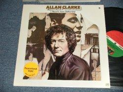 """画像1: ALLAN CLARKE (HOLLIES) - I WASN'T BORN YESTERDAY (Ex+++/MINT- A-1:Ex++ BB for PROMO) / 1978 US AMERICA ORIGINAL """"PROMO"""" Used LP"""
