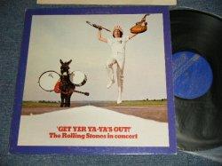 """画像1: The ROLLING STONES - GET YER YA-YA'S OUT (Matrix #A) XZAL-10076-3  AL 9/23/70 B) XZAL0077-AL  9-10-70) """"AL/ Audio Manufacturing Record Co. in  New Jersey"""" (Ex+++/Ex+++) / 1970 US AMERICA ORIGINAL Used LP"""
