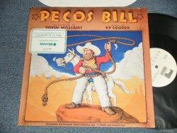"""画像1: RY COODER / ROBIN WILLIAMS (NARRATION) - PECOS BILL (Ex++/MINT-)   / 1988 US AMERICA ORIGINAL """"PROMO"""" Used LP"""