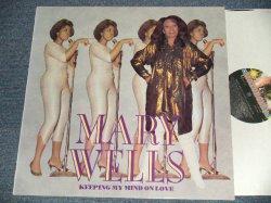 """画像1: MARY WELLS - KEEPING MY MIND ON LOVE (NEW)/ 1990  UK ENGLAND ORIGINAL """"BRAND NEW"""" LP"""