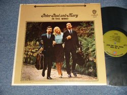 "画像1: PP&M PETER PAUL & MARY - IN THE WIND (Ex++/MINT-) / 1968 Version US AMERICA 2nd Press ""GREEN with W7 Label"" ""STEREO"" Used LP"