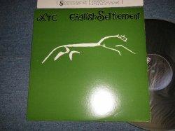 """画像1: XTC - ENGLISH STETTLEMENT (MINT-/MINT-) / 1982 US AMERICA ORIGINAL """"PROMO"""" """"With CUSTOM ART INNER SLEEVE"""" Used LP"""