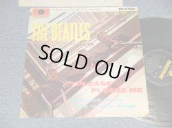 """画像1: THE BEATLES - PLEASE PLEASE ME (Matrix #A)XEX-421-1N  PD  2  B)XEX-422-1N  0D  4) (Ex++, Ex-/Ex+++ Looks:Ex+ WOFC, WOBC) / 1963 UK ENGLAND """"YELLOW PARLOPHONE Label"""" MONO Used LP"""