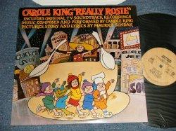"""画像1: CAROLE KING - REALLY ROSIE (MINT-/MINT- STOBC)/ 1980's Version US AMERICA REISSUE """"SINGLE COVER"""" Used LP"""