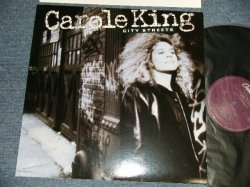 """画像1: CAROLE KING - CITY STREET (MINT-/MINT- STOBC) / 1989 US AMERICA ORIGINAL """"With CUSTOM INNER"""" Used LP"""