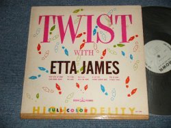"""画像1: ETTA JAMES -TWIST WITH  (Ex++/Ex+++) EDSP, TAPE SEAM) / 1962 US ORIGINAL """"MONO"""" Used LP"""