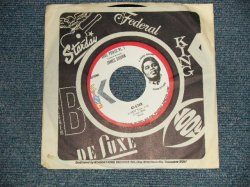 """画像1: JAMES BROWN - A)SOUL POWER  Pt.1  B) SOUL POWER  Pt.2 & Pt.3 (Ex++/Ex++) 1971 US AMERICA ORIGINAL """"WHITE LABEL PROMO"""" Used 7"""" 45 rpm Single"""