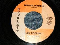 """画像1: LES COOPER - A) WIGGLE WOBBLE  B) DIG YOURSELF (Ex+++/Ex+++ SWOL) / 1962 US AMERICA ORIGINAL Used 7"""" 45 rpm Single"""