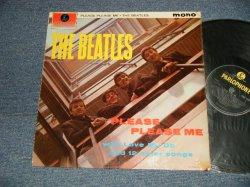 """画像1: THE BEATLES - PLEASE PLEASE ME (Matrix #A)1N  G O L  B)1N  G H H) (Ex++/Ex+++, Ex++ WOBC) / 1963 UK ENGLAND ORIGINAL 4th Press """"RECORDING FIRST PUBLISHED 1963 on Label"""" """"YELLOW/BLACK Label"""" """"MONO"""" Used LP"""