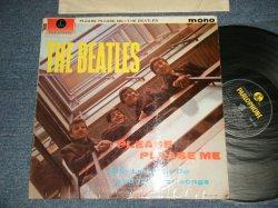 """画像1: THE BEATLES - PLEASE PLEASE ME (Matrix #A)1N  G H R  B)1N  F H R ) (Ex++/Ex+++) / 1963 UK ENGLAND ORIGINAL 4th Press """"RECORDING FIRST PUBLISHED 1963 on Label"""" """"YELLOW/BLACK Label"""" """"MONO"""" Used LP"""