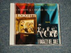 """画像1: I ROKKETTI + I RAGAZZI DEL SOLE (60's IOTALIAN BEAT) - I ROKKETTI + I RAGAZZI DEL SOLE (NEW) / GERMAN """"Brand New"""" CD-R"""