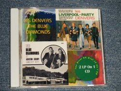 """画像1: The DENVERS (60's FRENCH BEAT) + The BLUE DIAMONDS (60's UK BEAT)  - LIVERPOOL-PARTY + AT ASHTON COURT (NEW) / GERMAN """"Brand New"""" 2-CD-R"""