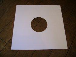 画像1: LP用 紙スリーヴ(レギュラー 四角の角 と 丸形角 あります。) 10枚セット