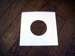 画像1: EP/シングル用 紙スリーヴ(中厚) 10枚セット